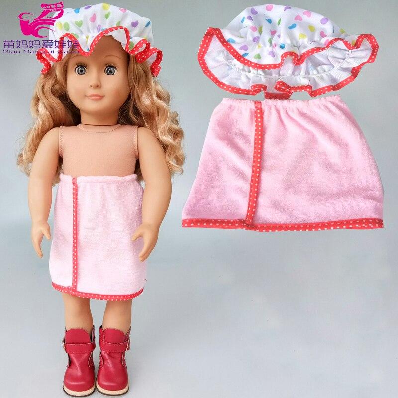 Bebe Кукла Одежда Комбинезоны халат 18 дюймов Кукла аксессуары игровой дом Комплект для маленьких девочек подарок на Новый год