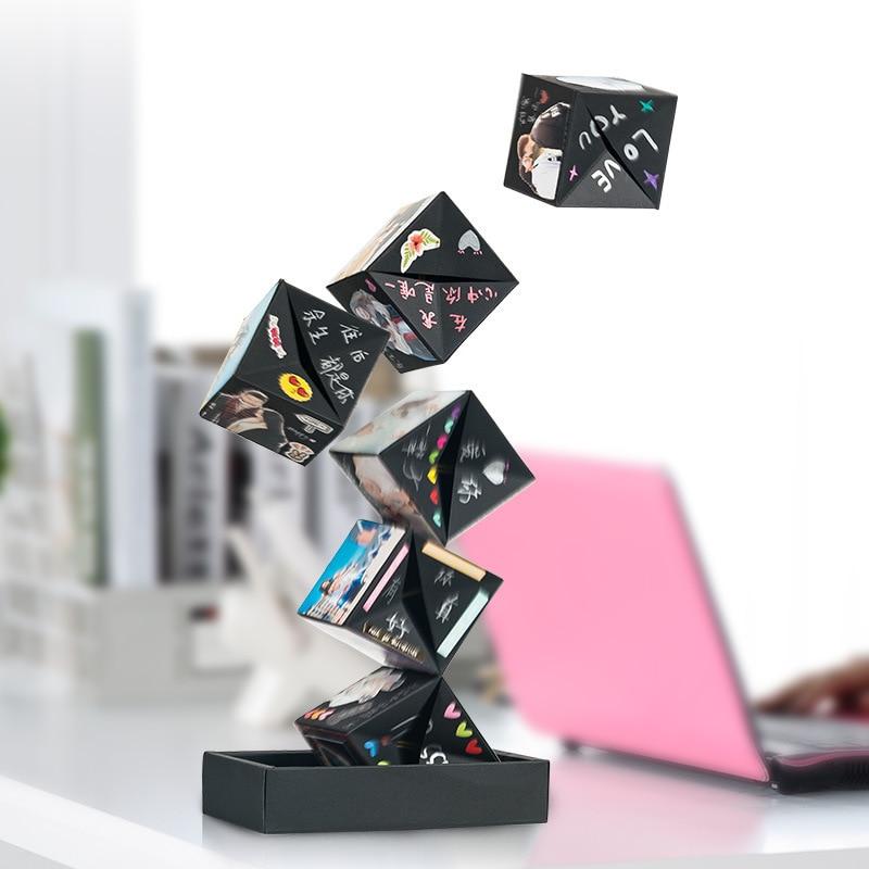 DIY Surprise Box DIY Love Jumping Bouncing Gifts Box Birthday Gift Explosion Box For Anniversary Scrapbook DIY Photo Album