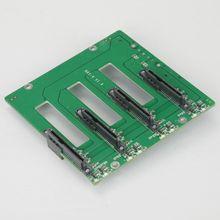 Четыре бита NAS горячий разъем продукт Sata задняя Плата Поддержка SATA 6 Гбит/с