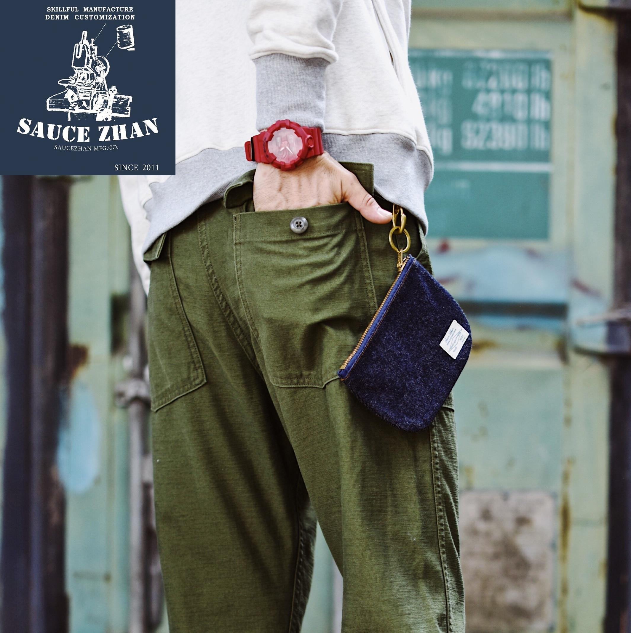 SauceZhan OG 107 疲労ユーティリティパンツミリタリーパンツレトロビンテージクラシックズボンメンズパンツパンパンツ  グループ上の メンズ服 からの カジュアル パンツ の中 2