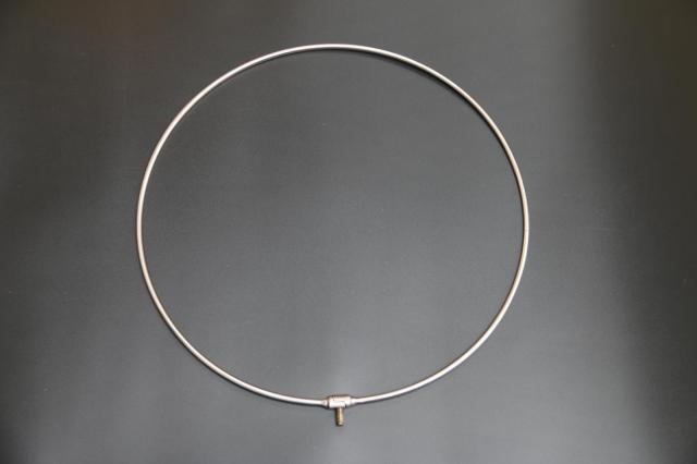 Solid One-piece Dip Net Circle Stainless Steel/Foldable Landing Net Head Copy Pheasant Big Fish 40/45/50/60 Dip Net Circle
