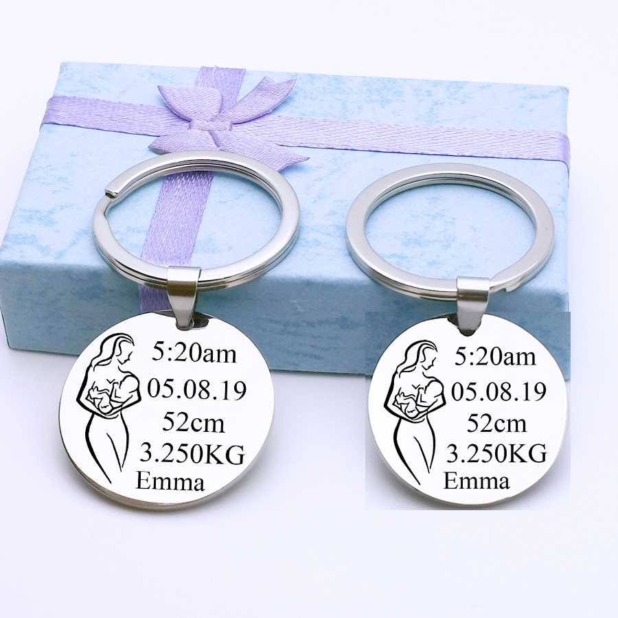 Present//Gift Someone Special Dogue De Bordeaux Mummy Keyring Any Women Mother