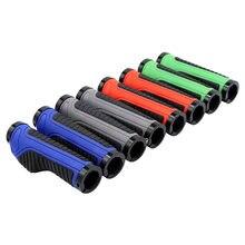 Новые велосипедные ручки mtb наконечники руля резиновые алюминиевое