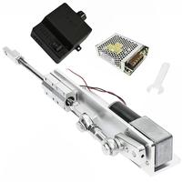 Electric Motor DIY Linear Actuator 8 470rpm FF70 Set with Switching Capacity 110V 240V + PWM Speed Controller 30/50/70mm Stroke