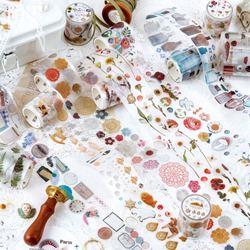Прозрачная лесная сказочная лента для питомцев Васи, декоративная наклейка для скрапбукинга, планировщик, маскирующая клейкая лента, этике...