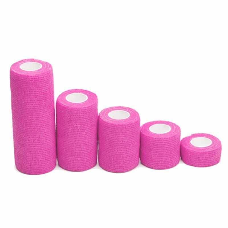 4.5M spor bant Nonwoven su geçirmez kendinden yapışkanlı elastik bandaj koruma Wrap streç bant parmak bilek ayak bileği