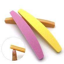 10 шт/лот пилка для ногтей буфер губка 100/180 шлифовальные