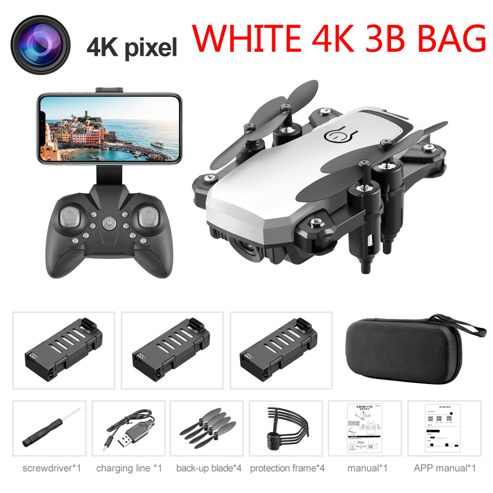 White 4K 3B Bag