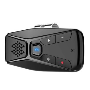 Авто Bluetooth 5,0 EDR Handsfree автомобильный комплект солнцезащитный козырек динамик автомобильный аудио приемник для телефона Hands Free беспроводной д...