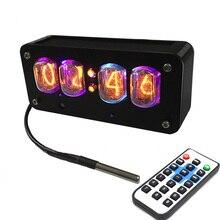 Inductie Schakelaar IN12 Gloed Buis Klok Quasi glow Klok 4 bit Geïntegreerde Glow Klok met GPS