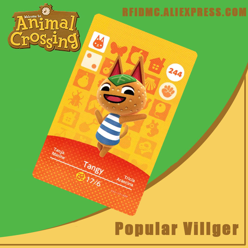 244 Tangy Animal Crossing Card Amiibo For New Horizons