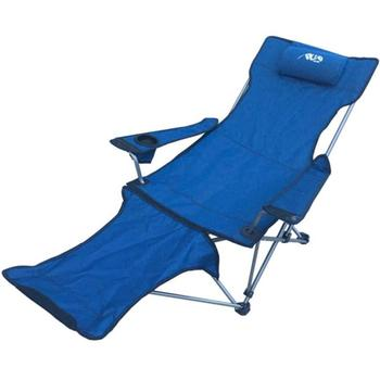 Outdoor Folding Chair Recliner Portable Backrest Leisure Beach Fishing Chair Nap Lunch Break Chair