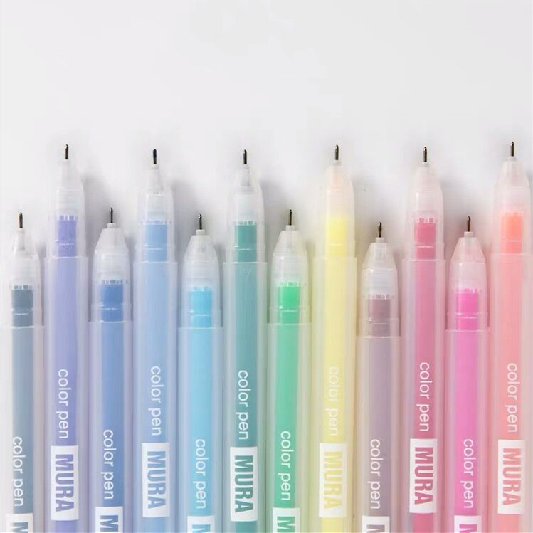 2020 Sharkbang 1PC 0.5mm Kawaii Candy Color Pen Graffiti Drawing Painting Pen Marker Pen School Office Stationery Supplies