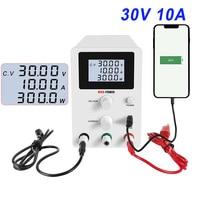 Switching DC Power Supply Laboratory adjustable 30v 10a LCD screen Bench Power Source Regulator 4 digit digital display 220 V