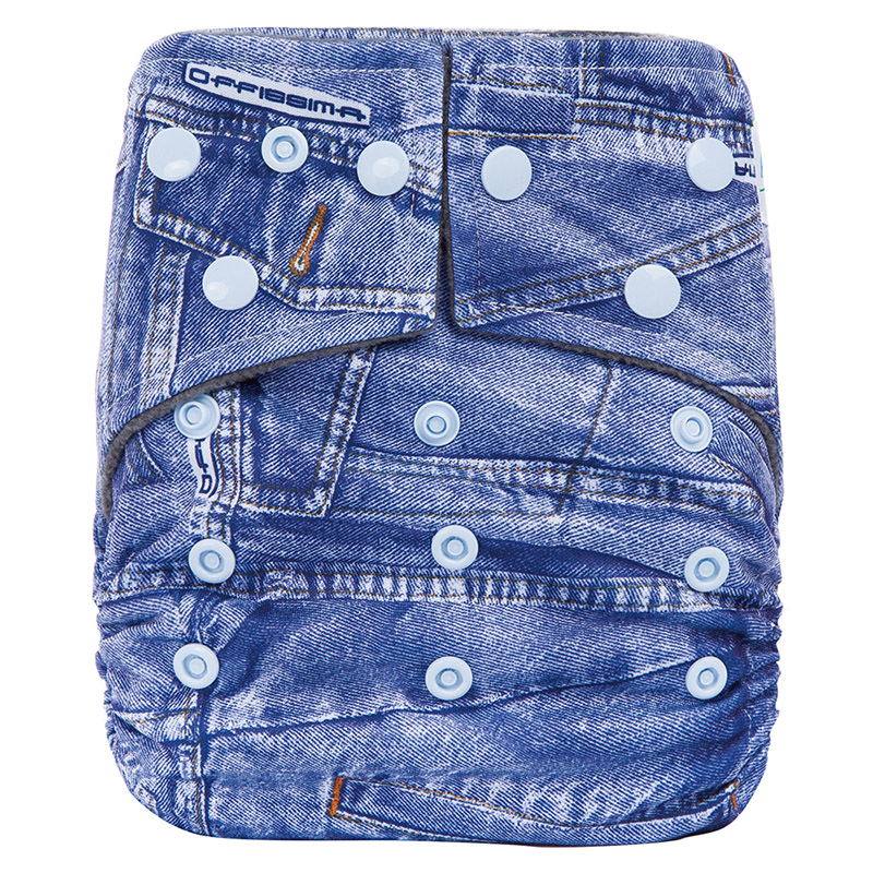 Reusable Bamboo Baby Cloth Diaper Washable Bamboo Cloth Nappy With Double Gusset CJ24