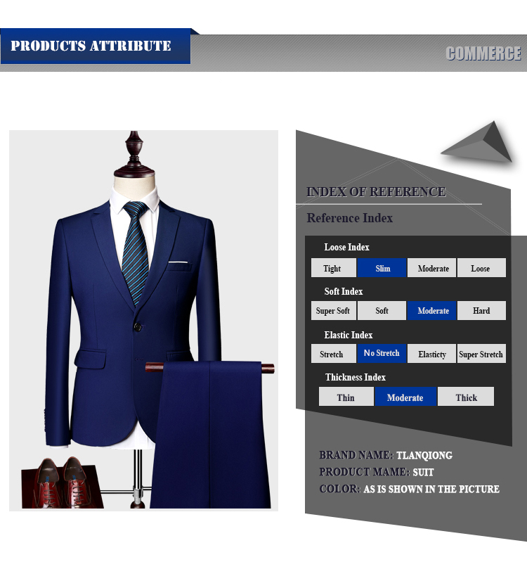 Mens Suits 2020 Costum Solid Formal Work Business Tuxedo male 3 Piece Casual Terno wedding Party Terno suit slim fit Asian Size