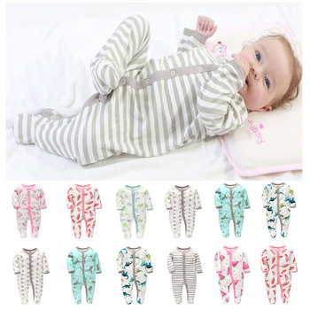 Infant Long Sleeve Cotton Romper Set Rompers Baby Boy Romper Baby Girl  Baby Rompers Newborn Children's Animal Romper Clothes new baby boy clothing set summer baby cotton bodysuit elephant printed romper animal bibs 3pcs set newborn baby girl clothes