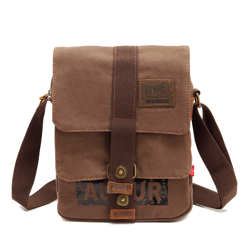 Fashion Man Urban Daily Carry Bag High Quality Men Canvas Shoulder Bag Casual Travel Men's Crossbody Bag Male Messenger Bags