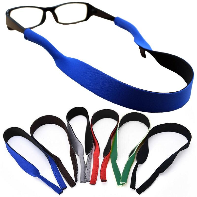 Glasssholder Skiing Swimming Women Eyeglasses Lanyard Men Eyeglasses Chain Comfortable Sport Running Neoprene Hot Sale Soft