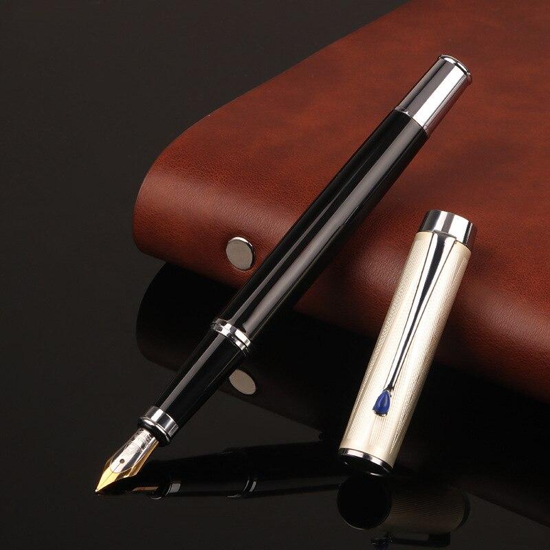 presente caneta tinta de metal estudante escola caneta padrao escrita 05