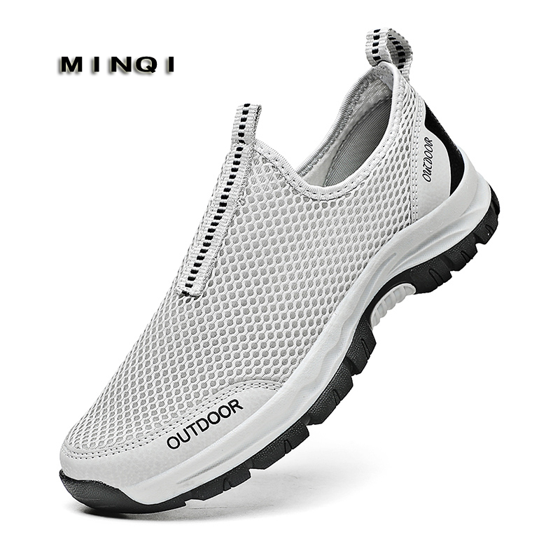 2021 summer men's vulcanized shoes sports shoes mesh outdoor casual shoes breathable...