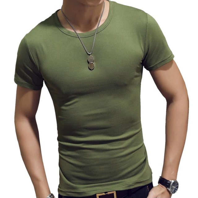 Men T-shirts Polyester  1