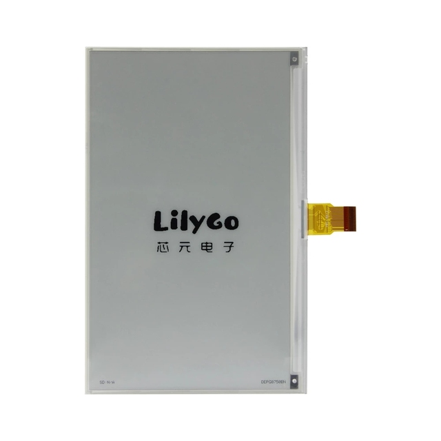 LILYGO® 7.5 inch e ink display compatible with T5 motherboard