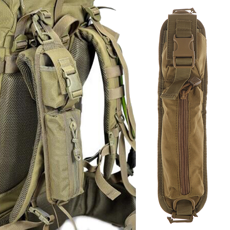 Tactical Shoulder Strap Sundries Bags For Backpack Accessory Pack Key Flashlight Pouch Molle Outdoor Hunting EDC Kits Tools Bag