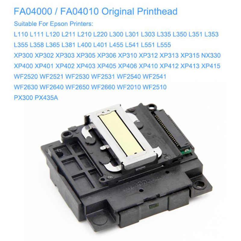 Fa04000 Fa04010 ראש ההדפסה Epson L110 L111 L120 L211 L210 L300 L301 L365 L335 L555 Xp300 Xp400 L351 l350 L355 L3