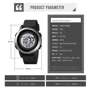 Image 3 - SKMEI Men Digital Watch Waterproof LED Sport Military Mens Watches Top Luxury Brand Fashion Wristwatch Male relogio masculino