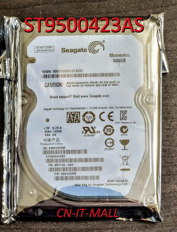 Внутренний жесткий диск для ноутбука Seagate Momentus 7200,4 ST9500423AS, 500 Гб, 7200 об/мин, 16 Мб кэш, SATA 3,0, 2,5 дюйма