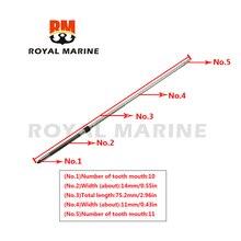 63V-45510-10 Outboard Motor Driver Shaft Long shaft (L) for Yamaha Outboard Motor 2 Stroke 9.9HP 15HP 63V-45510-11  63V-45510-10 конденсатор nichicon uhw 63v 1000 uf