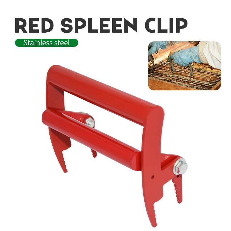 Beekeeping Frame Red Grip Holder Lift  Gripper Tool Beekeeping Equipment Bee Hive Frame Tool Beekeeper Tool Capture Grip