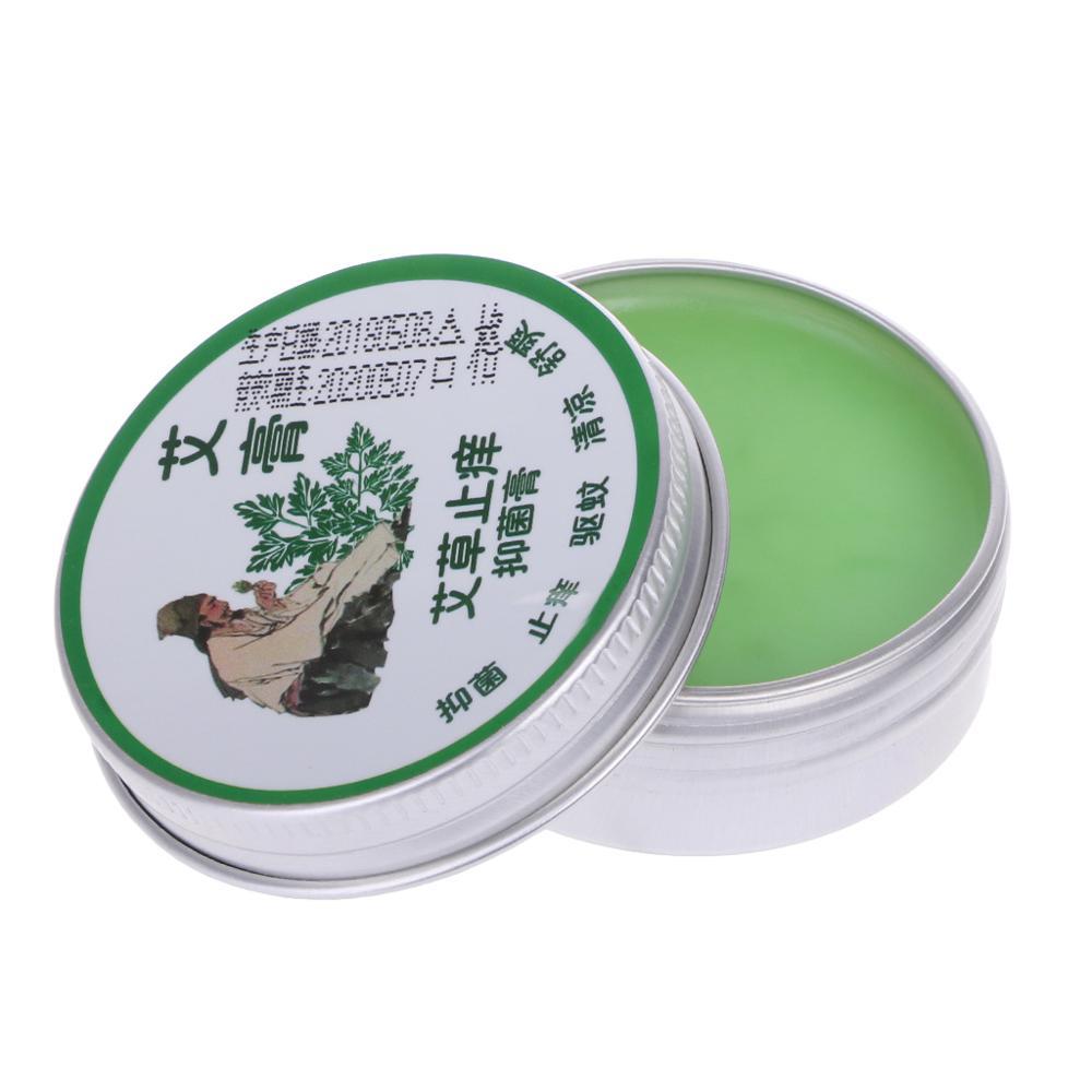 20g Natural Moxa Cream Balm Mugwort Essential Massage Oil Health Care Massage Relaxation
