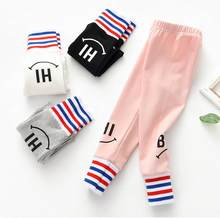 Spring Autumn Girls Leggings New Kids Fashion Cotton Pants Clothes For Baby Girl Casual Trousers Leggings Children outfits 2-6Y(China)