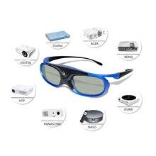 3D очки, активная затвор перезаряжаемые 3D очки 96/120/144 Гц для Xgimi Z3/Z4/Z6/H1/H2 G1/P2 BenQ Acer & DLP LINK проектор