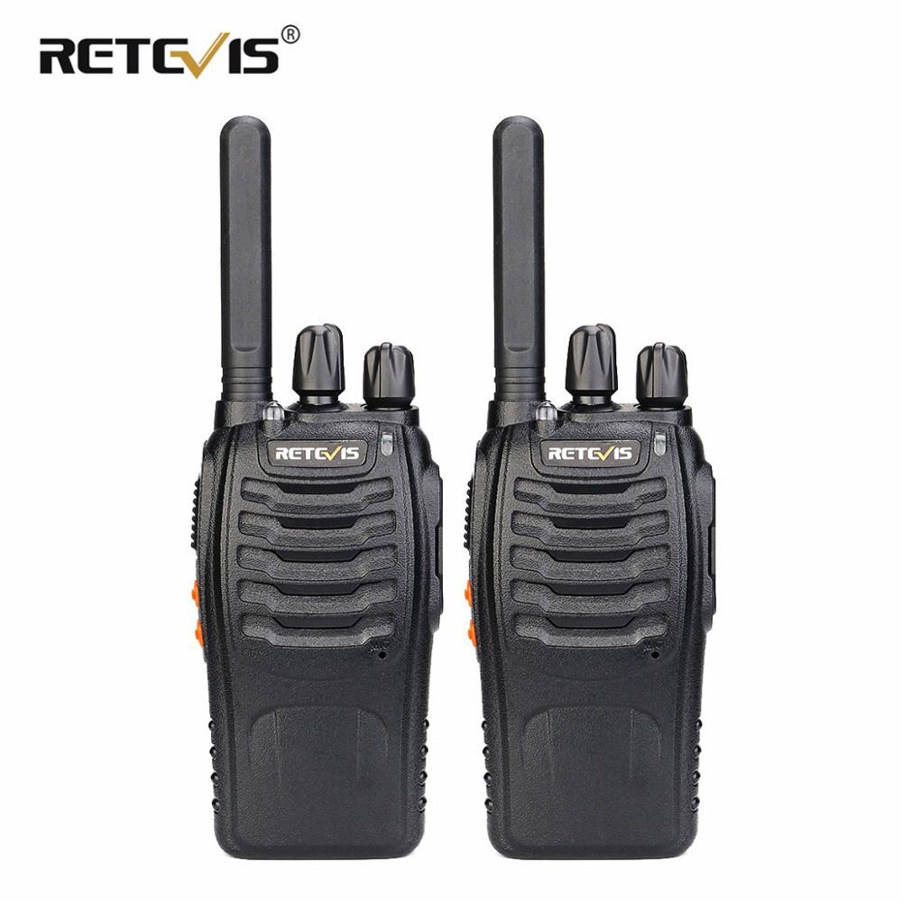 Walkie-Talkie Radio Retevis Professional Hunting Handy H777-Plus 2pcs Two-Way Pmr 446
