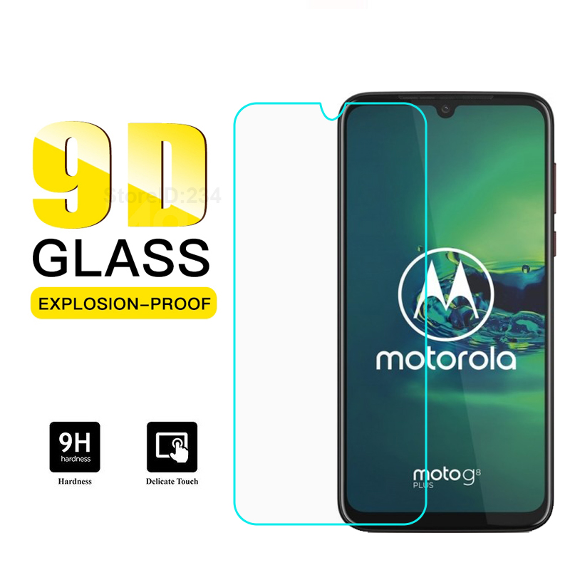 Screen Protector Tempered Glass For Motorola Moto Macro E6 One Hyper Zoom Action Vision Power G7 Play G8 G Lite Stylus Plus Film(China)