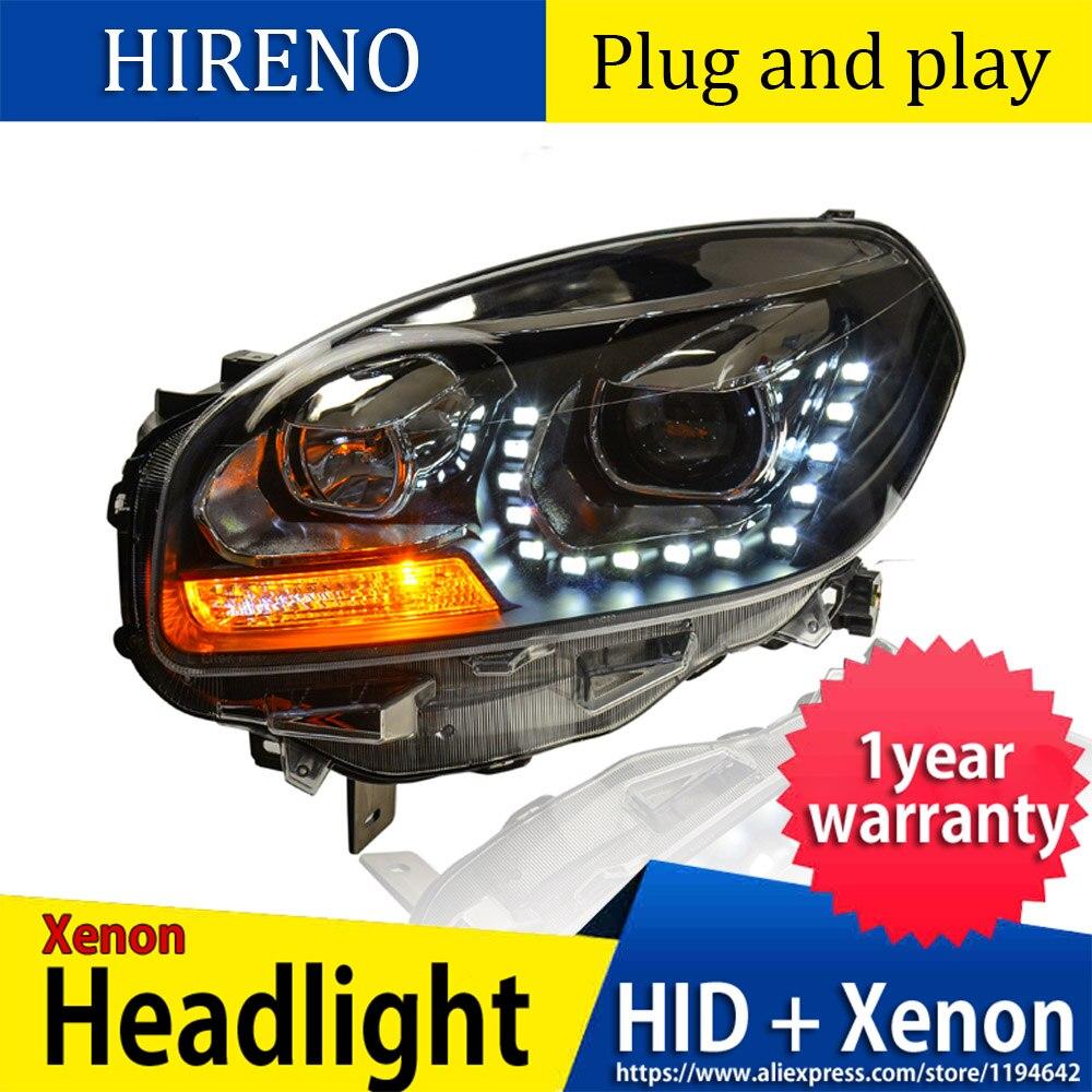 Renault Grand Scenic MK3 55w Clear Xenon HID Low Dip Beam Headlight Bulbs Pair