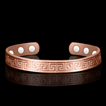 Pure Copper 6 Magnetic Bangle 1