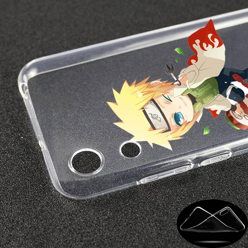 luxury Silicone Case Anime cartoon naruto for Huawei Honor 9X 8A 7A 20 Pro 7X 8X 7S 8S 8 9 10 Lite View 20 20i 10i Play Fashion in Fitted Cases from Cellphones Telecommunications