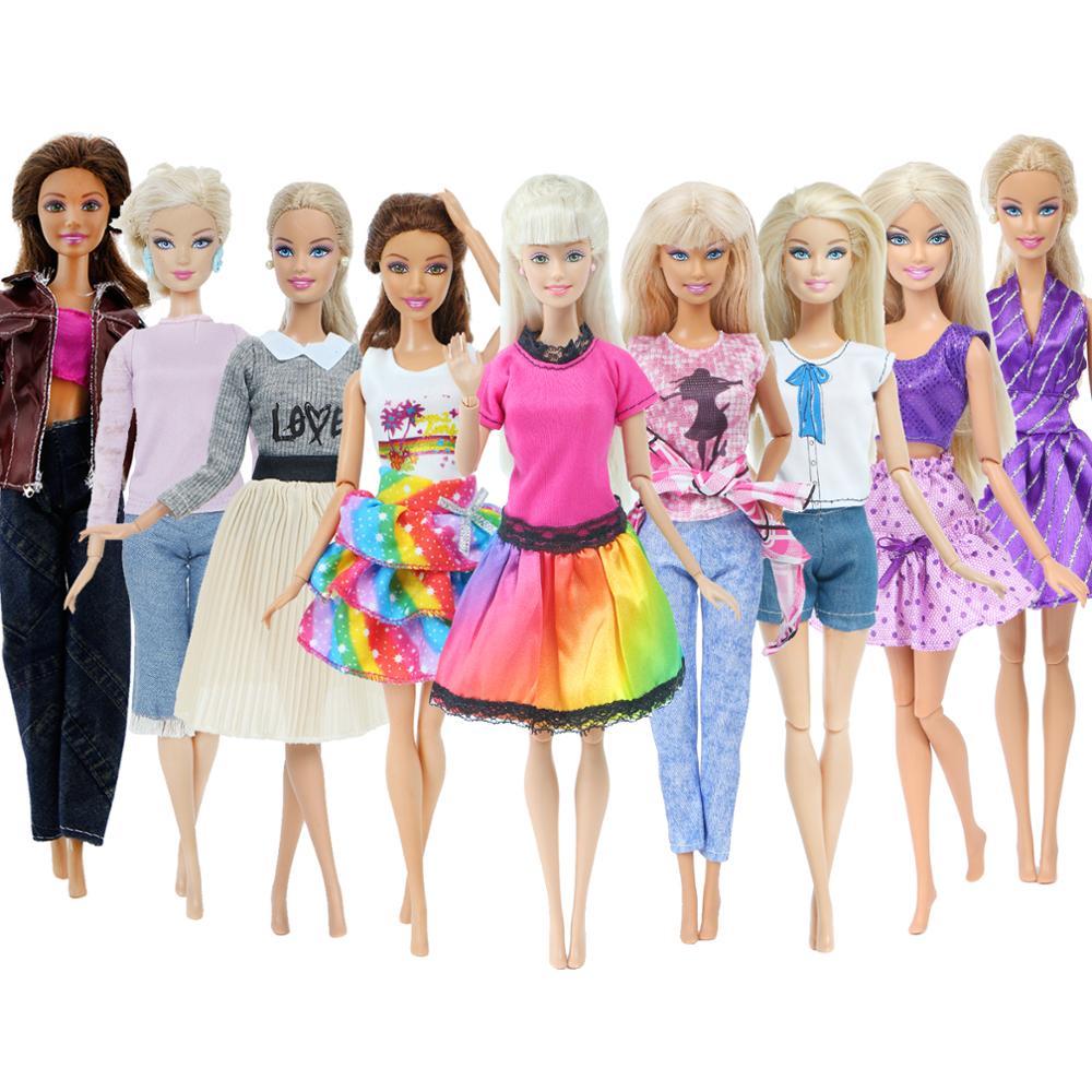 new Barbie Black knit Pants for Barbie doll