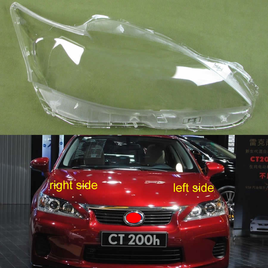 Headlamps Shell Headlight Lamp Cover Headlight Lampshade Glass Lens For Lexus CT200 CT200h 2012 2013 2014 2015 2016 2017
