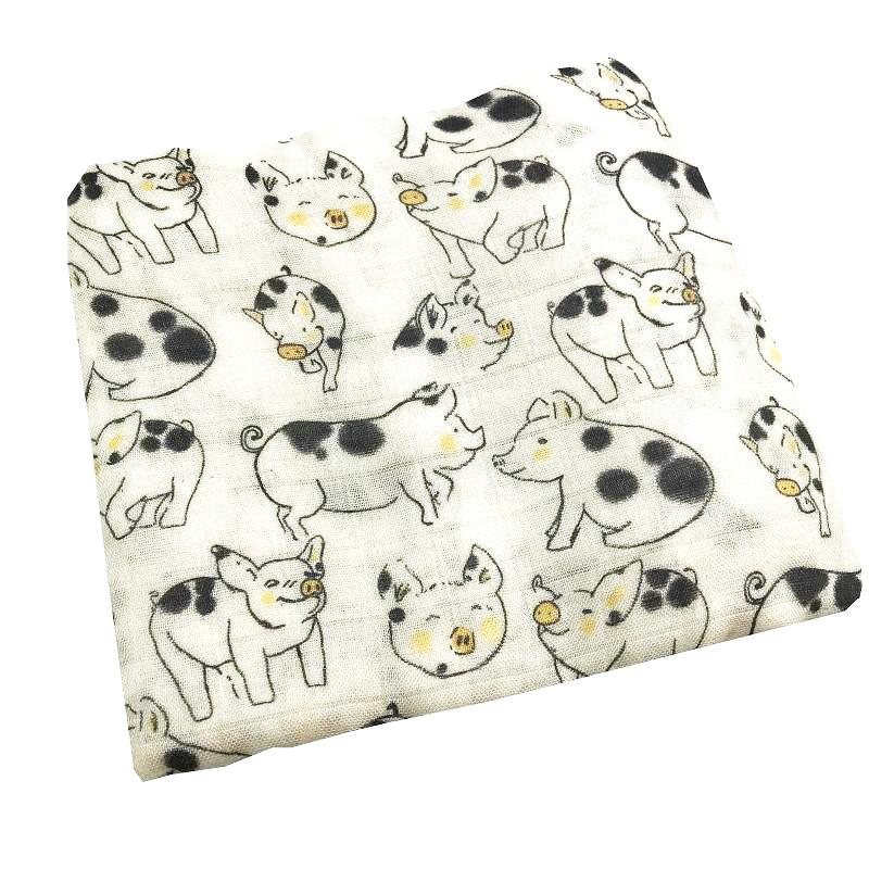 Купить с кэшбэком 2019 new better 100% bamboo fiber muslin baby blanket swaddle wrap for newborn blankets babies bath towel 180g very soft bedding