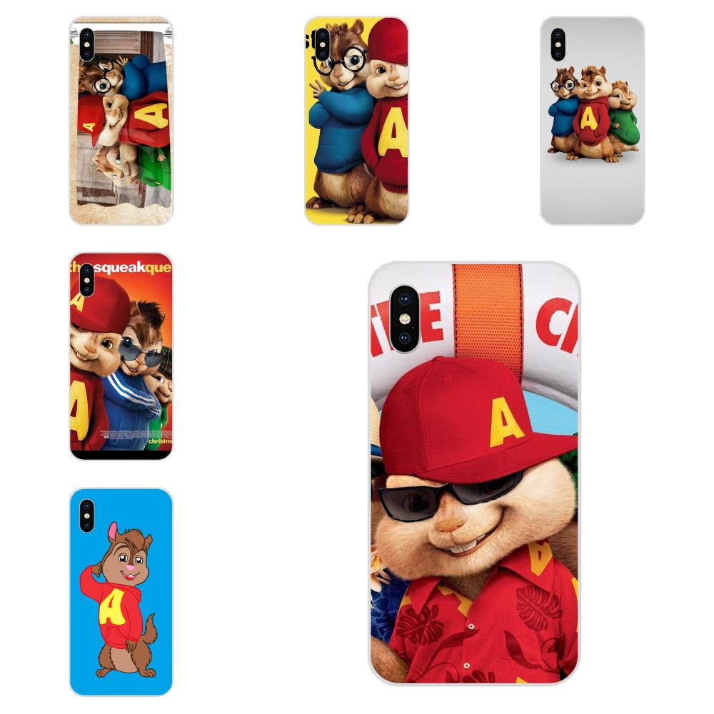 Movie Alvin And The Chipmunks For Apple Iphone 4 4s 5 5c 5s Se 6