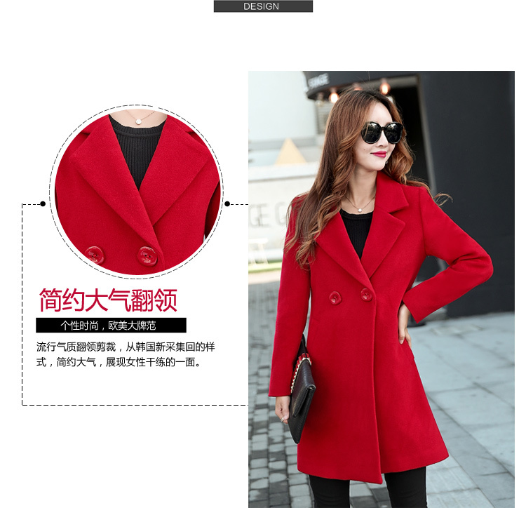 YICIYA Winter autumn Coat Women Wool Jacket Long Oversized Coats Plus Size Large Black Blend Woolen Warm Outerwear 2019 Clothing 20