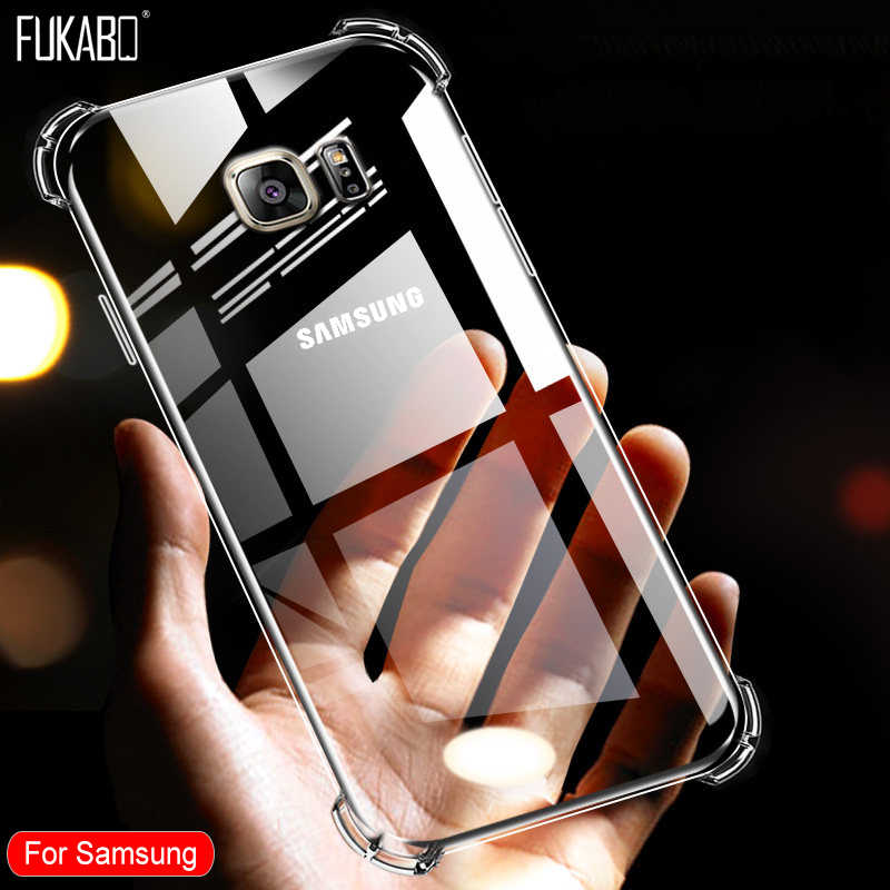Caso a prueba de golpes para Samsung Galaxy A50 A70 A10 A20 A30 A60 A80 A90 cubierta para Samsung A3 A5 A7 J5 j7 2017 2016 A6 A8 Plus 2018