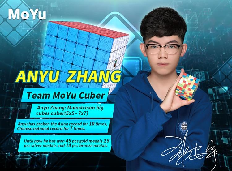 Cubing Classroom Meilong 6x6 Stickerless Magic Cube