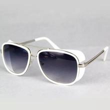 Male Steampunk Sunglasses Tony Stark Iron Man Matsuda Sunglasses
