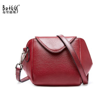 BRIGGS women messenger bags genuine leather female crossbody bags small lady shoulder bag female brand handbag drop shipping women s fashion leather crossbody bags handbags female panelled flap famous brand lady messenger shoulder bag drop shipping